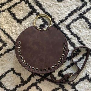 Marla Stitched Circle Bag